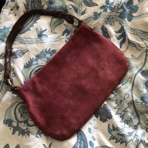 EUC Gap Suede Bag